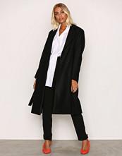 Filippa K Black Eden Belted Coat