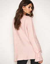 NLY Trend Lys rosa Soft Knit Tied Sleeve