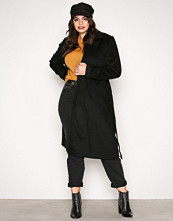 Vero Moda Svart Vmjess Rich Long Wool Jacket Boos