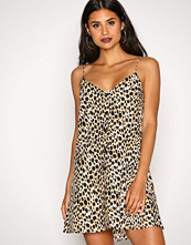 Motel Leopard Sanna Slip Dress