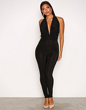 NLY One Svart Multi Tie Option Jumpsuit