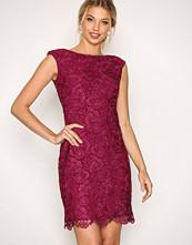 Lauren Ralph Lauren Purple Montague Sleeveless Evening Dress