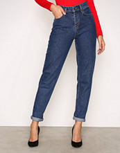 NLY Trend Dark Blue Denim High Waist Vintage Denim