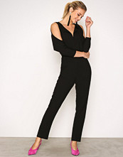 Closet Black Cold Shoulder Jumpsuit