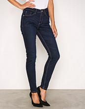 River Island Dark Denim Amelie Terry Regular Length Jeans