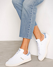 Adidas Originals Hvit/Blå Stan Smith