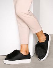 NLY Shoes Svart Faux Fur Sneaker