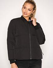 Selected Femme Svart Sfdavy Ls Down Jacket