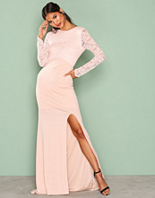 TFNC Peach Seraphina Maxi Dress