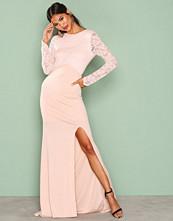 TFNC Peach Seraphina Maxi Dress