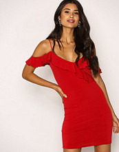 Motel Red Chaney Bodycon Dress