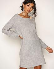 Jacqueline de Yong Lys grå Jdyblogg L/S Dress Knt