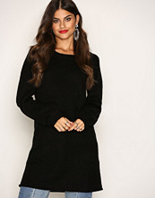 Jacqueline de Yong Svart Jdyblogg L/S Dress Knt