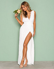 NLY Eve Hvit Forever Lace Gown