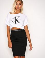 Calvin Klein Black Kiri HWK Punto Skirt