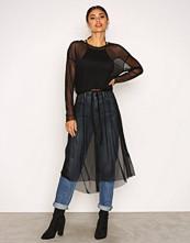 Jacqueline de Yong Svart Jdyball L/S Dress Jrs
