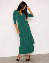 NLY Trend Grønn Ankle Wrap Dress