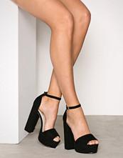 NLY Shoes Svart Platform Block Sandal