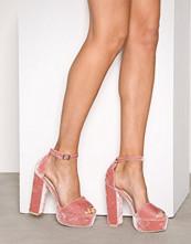 NLY Shoes Rosa Platform Block Sandal