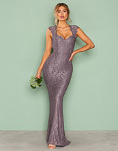 NLY Eve Dark Lavendel Mermaid Lace Gown