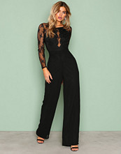 NLY Eve Svart Whenever Jumpsuit