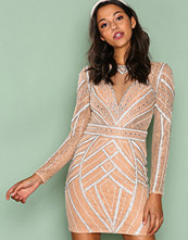 Forever Unique Champagne Tilly Dress