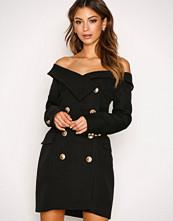 Forever Unique Black Freda Dress