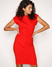 Closet Red T-bar Panelled Bodycon Dress