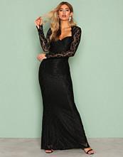 NLY Eve Svart Mermaid LS Gown