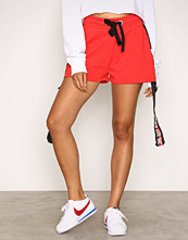 Missguided Red Runner Shorts