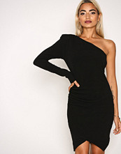 Missguided Black Bandage Detail Maxi Dress