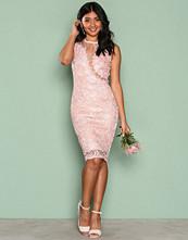 Ax Paris Pink Dreamy Lace Dress