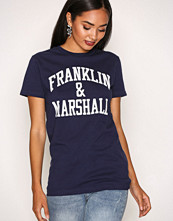 Franklin & Marshall Navy R Neck T-Shirt