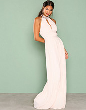 TFNC Light Beige Corrine Maxi Dress