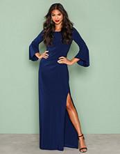 Lauren Ralph Lauren Indigo Lenar Evening Dress