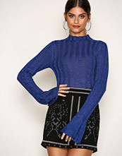 NLY Trend Cobolt Blue Perfect Sleeve Glam Knit