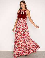 For Love & Lemons Cranberry Blossom Tank Maxi Dress