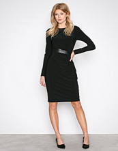 Lauren Ralph Lauren Black Celeste Long Sleeve Day Dress