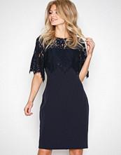 Lauren Ralph Lauren Navy Galinda Day Dress