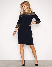 Lauren Ralph Lauren Navy Libertine 3/4 Sleeve Day Dress