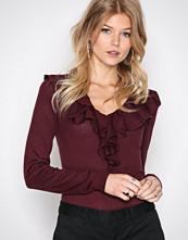 Lauren Ralph Lauren Red Vasiva Long Sleeve