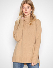 Polo Ralph Lauren Camel Long Sleeve Mock Neck Sweater
