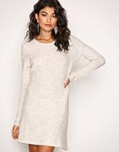 Vero Moda Lys grå Vmginger Vali Ls O-Neck Short Dress
