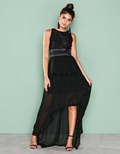 True Decadence Black Sleeveless Mesh Dress