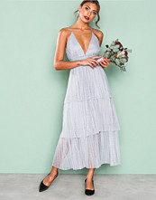 True Decadence Grey Frill Sleeveless Dress