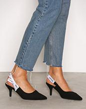 NLY Shoes Svart Slingback Pump