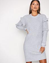 Michael Kors Pearl Rib Ruffle Dress
