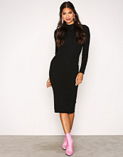 Jacqueline de Yong Svart Jdydea L/S Dress Knt