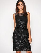 Lauren Ralph Lauren Black Melia Sleeveless Evening Dress