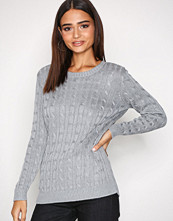 Lauren Ralph Lauren Grey Kati Long Sleeve Sweater